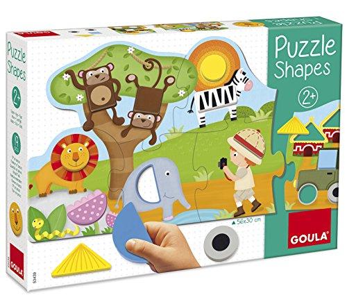 Goula D53439 - Bodenpuzzle mit Safari-Thema