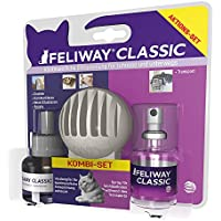 FELIWAY CLASSIC Kombi-Set aus Verdampfer, Flakon & 20ml Spray