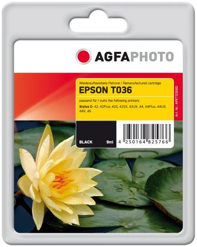 Preisvergleich Produktbild AgfaPhoto APET036BD Tinte für Epson STC42, 640 Seiten, 9 ml