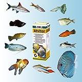JBL Multivitamin für Aquarienfische, Tropfen 50 ml, Atvitol 20300 - 5