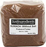 JustIngredients Essential Sumach Zumaque sin Sal - 500 gr