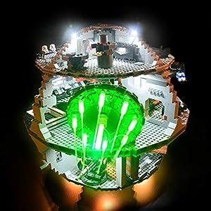 Lightailing Set di Luci per (Star Wars La morte nera) Modello da costruire - Kit luce led compatibile con Lego 10188… 0753318440265 LEGO