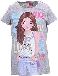 Filles Top Model Shirt, gris clair mélange