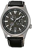 Orient Herren Analog Automatik Uhr mit Leder Armband FET0N002K0