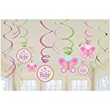 Amscan 671458Welcome Baby Girl Swirl Dekorationen