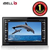 iBELL FV9362D Car 2 Din Multimedia Double Din Video Player, 6.2'' Touch Screen|Bluetooth|DVD|CD|MP3|USD|SD|Bluetooth|4*25