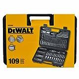 DeWalt Dewalt DT0109 Schraubendreher- und Bohrer-Bit-Set, 109-teilig