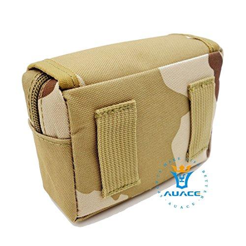 Multifunktions Survival Gear Tactical Beutel MOLLE POUCH Klettverschluss-Karte Tasche, Outdoor Camping Tragbare Travel Bags Handtaschen Werkzeug Taille Bag Handy Pouch DCU