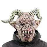 Maschera di Halloween Corno di Pecora Warcraft Ghost Mask Halloween Fools Day Bar Masquerade Props per Il Costume