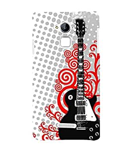 Fiobs Designer Back Case Cover for Coolpad Note 3 (Guitar Romantic Music Cool Boy )
