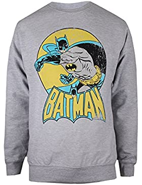 DC Comics Batman Retro, Camiseta para Mujer