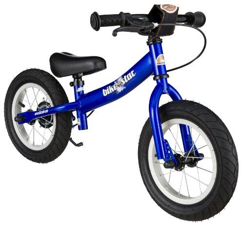 BIKESTAR Vélo Draisienne Enfants pour Garcons et Filles DE 3-4 Ans ★ Vélo sans pédales évolutive 12 Pouces Sportif ★ Bleu