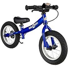 BIKESTAR® Premium 30.5cm (12 pulgadas) Bicicleta sin pedales para los exploradores mas valientes a partir de 3 años ★ Edición Sport ★ Azul