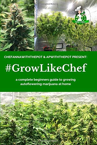 #GROWLIKECHEF: a complete beginners guide to growing autoflowering marijuana at home por ChefAnnawiththepot