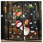 heekpek-Natale-Vetrofanie-Display-Rimovibile-Adesivi-Murali-Fai-da-te-Finestra-Decorazione-Vetrina-Wallpaper-fiocco-di-neve-Adesivi-Murali-Stelle-Nevi-Puntini-Merry-Christmas