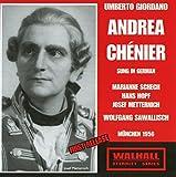 Andrea Chénier (Sung in German), Act I: Das blaue Sofa stellt hierher