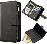 Leather Wallet Flip Cover Case for iPhone 11/12/12 Pro/12 Pro Max With Card Holder