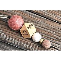 Schlüsselanhänger mit Name oder Wort // MUM //Hochzeitsgeschenk // Muttertag // Schlüsselanhänger // MAMA // personalisierbar // pro Seite 5 Buchstaben möglich