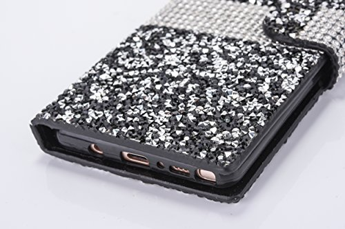 Cover per iPhone X Trasparente ,Cover per iPhone 10, Bonice Crystal Clear Glitter di Bling Custodia Ultra Slim Morbido TPU Gel Silicone Protettivo Skin Protettiva Shell Bumper Case Cover Anti Slip per Perla-Cover-01