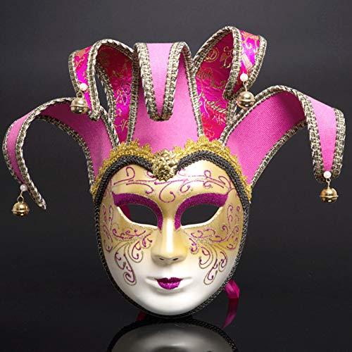 Halloween Kreativ Frauen Kostüm - FLTVSN Halloween-Maske Männer Frauen Maskerade Maske Halloween Kostüme Karneval Anonyme Maske Kreative Weihnachtsmasken Erwachsene Cosplay Party Masken
