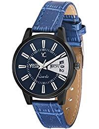 Youth Club LDD-220BKBU New Blue Day and Date Girls Series Watch For Girls