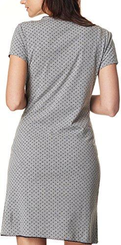 - Chemise de nuit pour femme still noppies 20580 umstandsmode nursing schwangerschaftsnachthemd chemise de nuit Gris