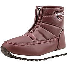 famosa marca de diseñador zapatos exclusivos imágenes detalladas Amazon.es: descansos nieve mujer - Rojo