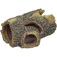 Lucky Reptile Inodoro de S Madera Cueva pequeño, ...