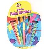 Artbox 5124 - Juego de pinceles (paquete de 15 cepillos, plástico), colores surtidos