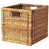 IKEA basket and storage boxes