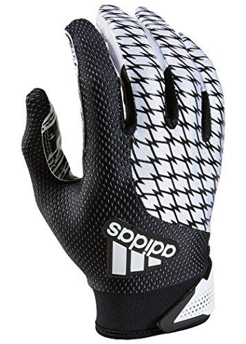 adidas adiFAST 2.0 Receiver American Football Handschuhe - weiß/schwarz Gr. M