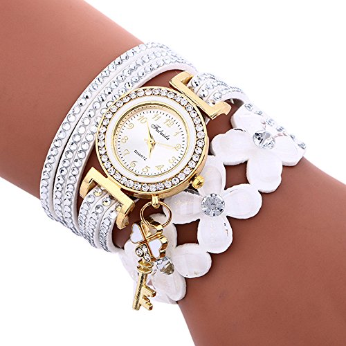 Uhren Damen Armbanduhr Fashion Chimes Diamond Sportuhr Lederarmband Watch Luxus Armband Exquisit Uhr Klassisch Uhr,ABsoar
