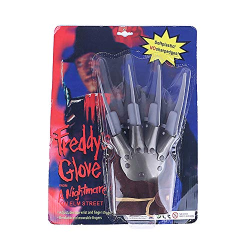 Leezo Freddy Krueger Guantes Wolverine Ghost Claw Guantes Halloween Masquerade Show Hombre Props