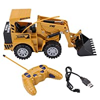 5 Channel Excavator Bucket RC Digger Remote Control Vehicle Toy