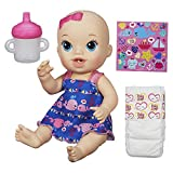 #7: Baby Alive Sips 'N Cuddles Doll Little Whales Dress, Multi Color