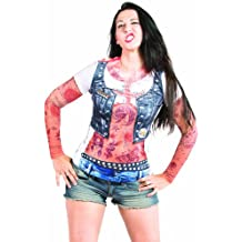 Faux Real Womans Tattoo Costume T-shirt