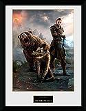 1art1 106771 The Elder Scrolls Online - Morrowind, Trio Gerahmtes Poster Für Fans und Sammler 40 x 30 cm