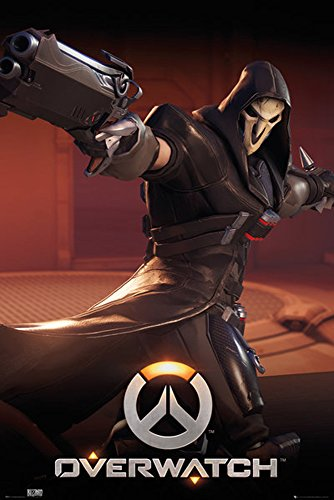 Empireposter Over Watch – Reaper – Game JEU Vidéo Poster, Papier, multicolore, Taille 61 x 91,5 cm 91,5 x 61 x 0,14 cm