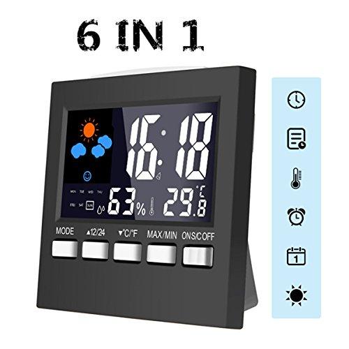 Kleiner aber feiner Weckerersatz und Hygrometer/Thermometer