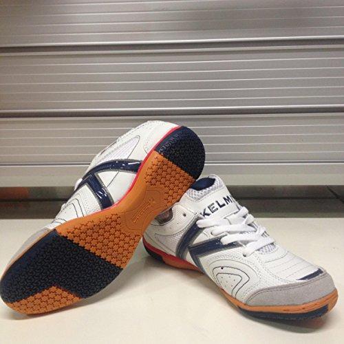 Kelme , Chaussures pour homme spécial foot en salle Blanc - Blanca-Jeans