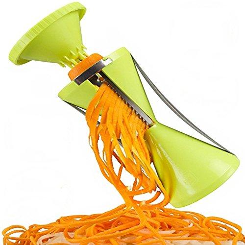 rotary schüssel, cutter, kreative küche multifunktionale cutter, spirale, trichter, draht, cutter, rotary pflanzliche cutter.