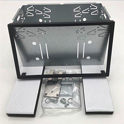 14 003 juego de montaje con caja para cabezal doble DIN, universal, 180mm x 103mm. Juego de montaje para estéreo de automóvil