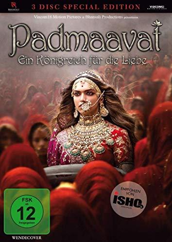 Padmaavat - Special Edition (+ DVD) (+ Bonus-DVD) [Blu-ray]