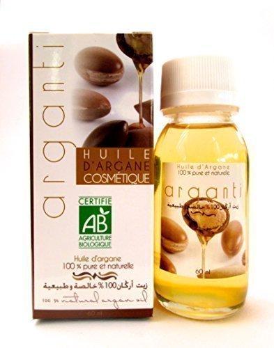 Arganöl für Haare & Körper - Natürliche und wirksame Anti-aging - Spendet der Haut Feuchtigkeit und kräftigt das Haar - 60ml