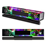 Mightyskins Protective Vinyl Skin Decal Cover For Microsoft Xbox One Kinect Wrap Sticker Skins Neon Splatter
