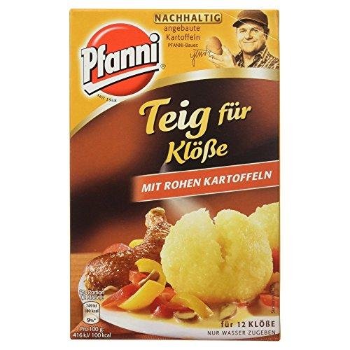 Pfanni Teig für Klöße mit Rohen Kartoffeln, 330g