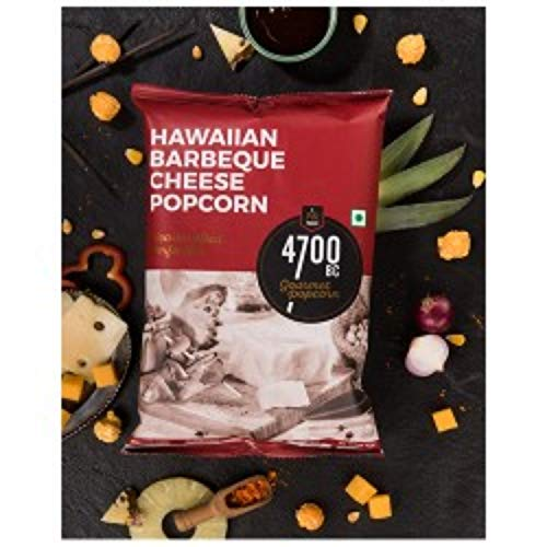 4700BC Hawaiian Barbeque Cheese Popcorn, 35g (Pack of 4)