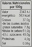Grashoff - Crema de chocolate negro y naranja - Pack de 3 Unidades