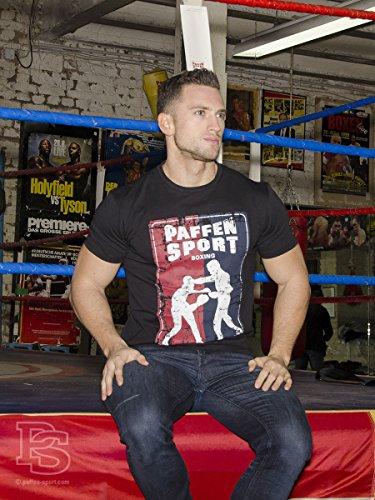 Paffen Sport VINTAGE BOXER T-Shirt Schwarz