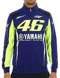 Sweat zippé Valentino Rossi Yamaha Racing Line Bleu